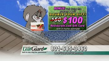 LeafGuard of Utah Spring Blowout Sale TV Spot, 'Ladder Accidents' - Thumbnail 9