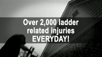 LeafGuard of Utah Spring Blowout Sale TV Spot, 'Ladder Accidents' - Thumbnail 1