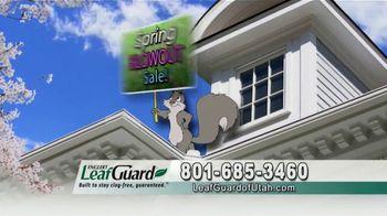 LeafGuard of Utah Spring Blowout Sale TV Spot, 'Ladder Accidents' - Thumbnail 5
