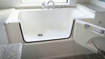 Simply Safe Slide-In-Tub TV Spot, 'Easy Entry & Wheelchair Accessibility: $500 Off' - Thumbnail 1