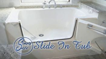 Simply Safe Slide-In-Tub TV Spot, 'Easy Entry & Wheelchair Accessibility: $500 Off' - Thumbnail 2