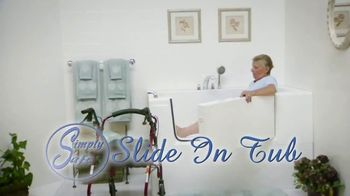 Simply Safe Slide-In-Tub TV Spot, 'Easy Entry & Wheelchair Accessibility: $500 Off'