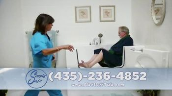 Simply Safe Slide-In-Tub TV Spot, 'Easy Entry & Wheelchair Accessibility: $500 Off' - Thumbnail 7