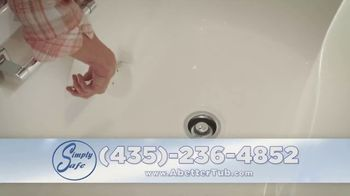 Simply Safe Slide-In-Tub TV Spot, 'Easy Entry & Wheelchair Accessibility: $500 Off' - Thumbnail 9