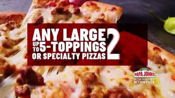 Papa John's TV Spot, 'Craving: $12 Large Pizza' - Thumbnail 4