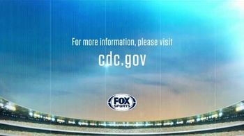 Centers for Disease Control and Prevention TV Spot, 'COVID-19: FOX Sports: Back to Work' - Thumbnail 10