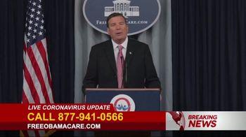 Free ObamaCare TV Spot, 'Live Update'
