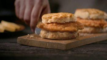 Bojangles' Cajun Filet Biscuit TV Spot, 'The First Bite: $6' - Thumbnail 5