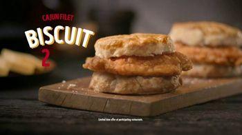 Bojangles' Cajun Filet Biscuit TV Spot, 'The First Bite: $6' - Thumbnail 6