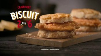 Bojangles' Cajun Filet Biscuit TV Spot, 'Flavor Grenade: $6' - Thumbnail 8