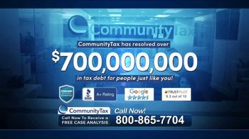 Community Tax TV Spot, 'Back Taxes: Burden'