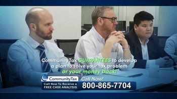 Community Tax TV Spot, 'Back Taxes: Burden'