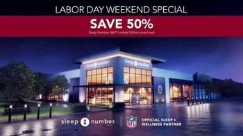Sleep Number Biggest Sale of the Year TV Spot, 'Labor Day Weekend Special: Save 50%' - Thumbnail 7
