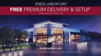 Sleep Number Biggest Sale of the Year TV Spot, 'Labor Day Weekend Special: Snoring' - Thumbnail 7