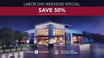 Sleep Number Biggest Sale of the Year TV Spot, 'Labor Day Weekend Special: Snoring' - Thumbnail 6