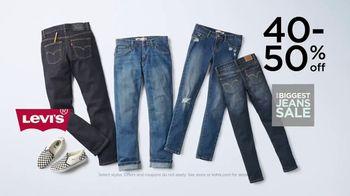 Kohl's Biggest Jeans Sale TV Spot, 'Levi's, Denim and Kohl's Cash' - Thumbnail 3