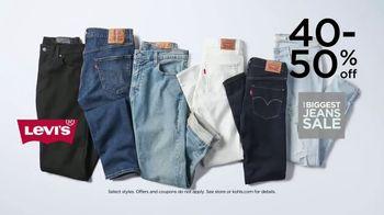Kohl's Biggest Jeans Sale TV Spot, 'Levi's, Denim and Kohl's Cash' - Thumbnail 4