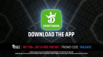 DraftKings Sportsbook TV Spot, 'Final Countdown: Houston vs. Kansas City: Free $101 Bet' - Thumbnail 6