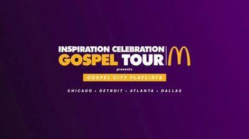 McDonald's Black and Positively Golden TV Spot, 'Sunday Best: Inspiration Celebration Gospel Tour' - Thumbnail 6
