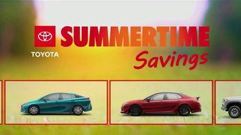 Toyota Summertime Savings TV Spot, 'Savings Are Here' [T2]