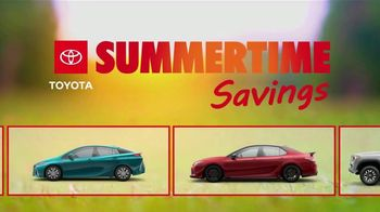 Toyota Summertime Savings TV Spot, 'Savings Are Here' [T2] - Thumbnail 1