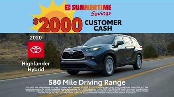 Toyota Summertime Savings TV Spot, 'Savings Are Here' [T2] - Thumbnail 4