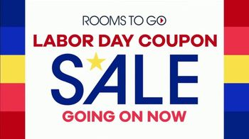 Rooms to Go Labor Day Coupon Sale TV Spot, 'Bonus Coupons' - Thumbnail 2