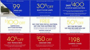 Rooms to Go Labor Day Coupon Sale TV Spot, 'Bonus Coupons' - Thumbnail 6