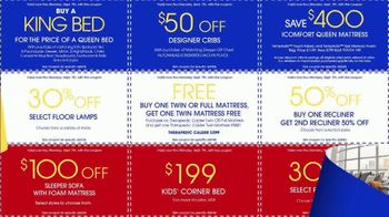 Rooms to Go Labor Day Coupon Sale TV Spot, 'Bonus Coupons' - Thumbnail 7