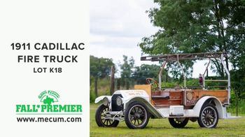 Mecum Gone Farmin' 2020 Fall Premier TV Spot, '1911 Cadillac Fire Truck'
