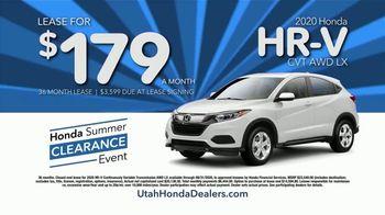 Honda Summer Clearance Event TV Spot, 'Utah: Clearance Pricing' [T2] - Thumbnail 5
