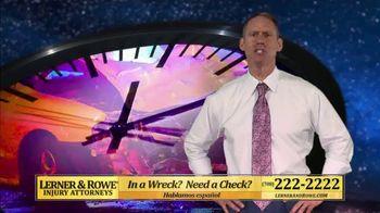 Lerner & Rowe TV Spot, 'Car Wrecks Don't Keep Regular Business Hours: Talcum Powder Cases'