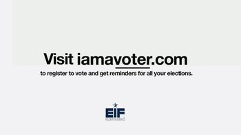 Entertainment Industry Foundation TV Spot, 'I Am a Voter: Turnout' - Thumbnail 7