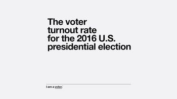 Entertainment Industry Foundation TV Spot, 'I Am a Voter: Turnout' - Thumbnail 3