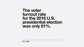 Entertainment Industry Foundation TV Spot, 'I Am a Voter: Turnout'