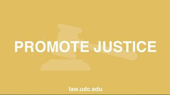 University of the District of Columbia School of Law TV Spot, 'Common Purpose' - Thumbnail 1
