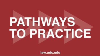 University of the District of Columbia School of Law TV Spot, 'Common Purpose' - Thumbnail 8