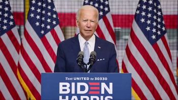 Biden for President TV Spot, 'Be Not Afraid' - 203 commercial airings