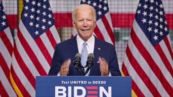 Biden for President TV Spot, 'Be Not Afraid' - Thumbnail 5