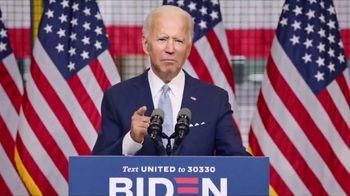 Biden for President TV Spot, 'Be Not Afraid' - Thumbnail 7
