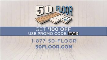 50 Floor TV Spot, 'Refresh Your Home: Over the Summer' - Thumbnail 9