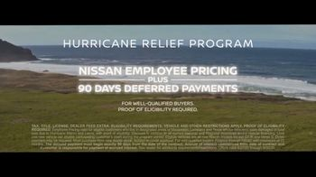 Nissan Bottom Line Sales Event TV Spot, 'Hurricane Relief: Final Boarding Call' Song by Dustin Paul [T2] - Thumbnail 8