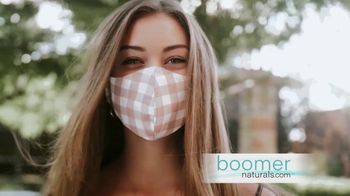 Boomer Naturals Multi-Use Protective Face Masks TV Spot, 'Enhanced With Nano-Silver Technology'