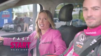 AutoNation Fast Start Sales Event TV Spot, 'Ford Models: 0% Financing' Featuring Alexander Rossi - Thumbnail 4