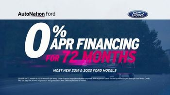 AutoNation Fast Start Sales Event TV Spot, 'Ford Models: 0% Financing' Featuring Alexander Rossi - Thumbnail 6