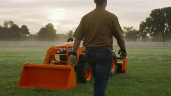 Kubota Compact Tractors TV Spot, 'Now's the Time: Zero Down + Save Up to $1,700' - Thumbnail 1
