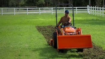 Kubota Compact Tractors TV Spot, 'Now's the Time: Zero Down + Save Up to $1,700'
