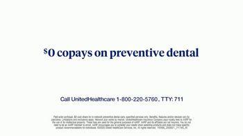 UnitedHealthcare Medicare Advantage TV Spot, 'Preventive Dental Care' - Thumbnail 7