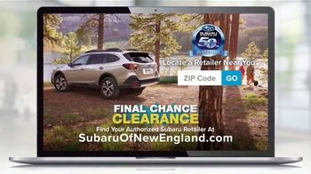 Subaru Final Chance Clearance TV Spot, 'Don't Miss: 2020 Outback' [T2] - Thumbnail 7