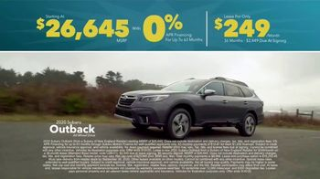 Subaru Final Chance Clearance TV Spot, 'Don't Miss: 2020 Outback' [T2] - Thumbnail 6